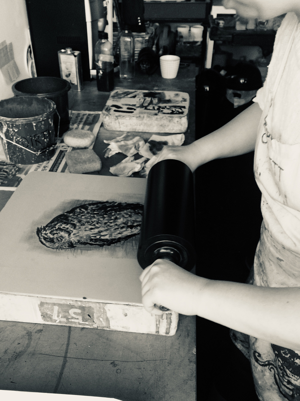 Stone Lithography - Weekend Printmaking Course