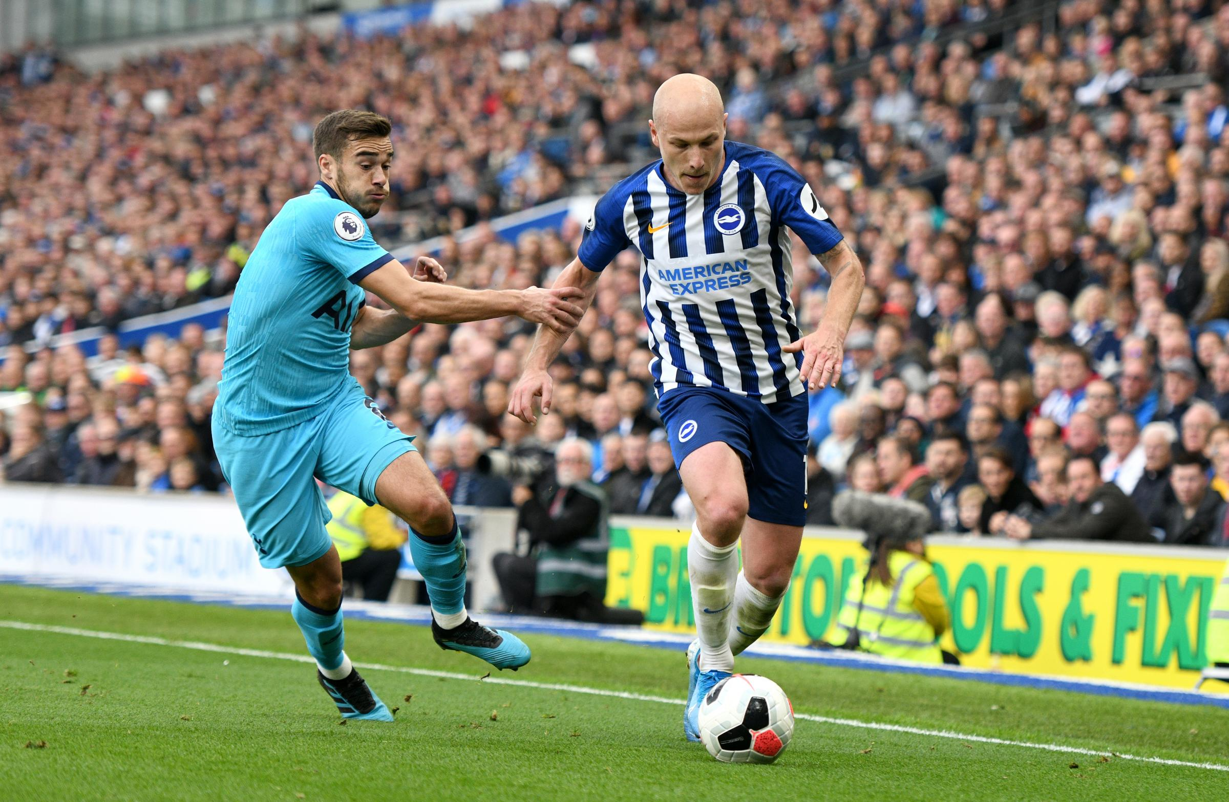 It's an Albion evolution and Aaron Mooy is playing his part