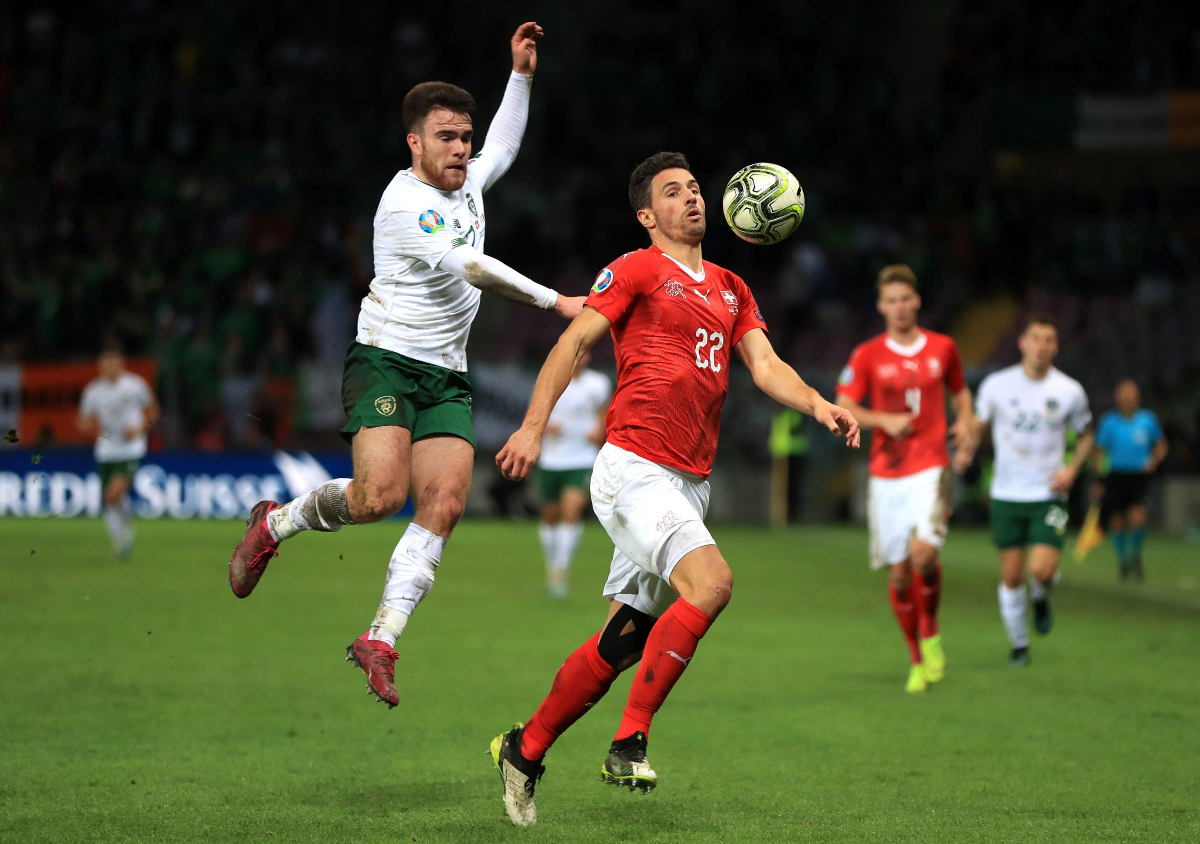 Aaron Connolly and Shane Duffy named in Republic of Ireland's 28-man squad