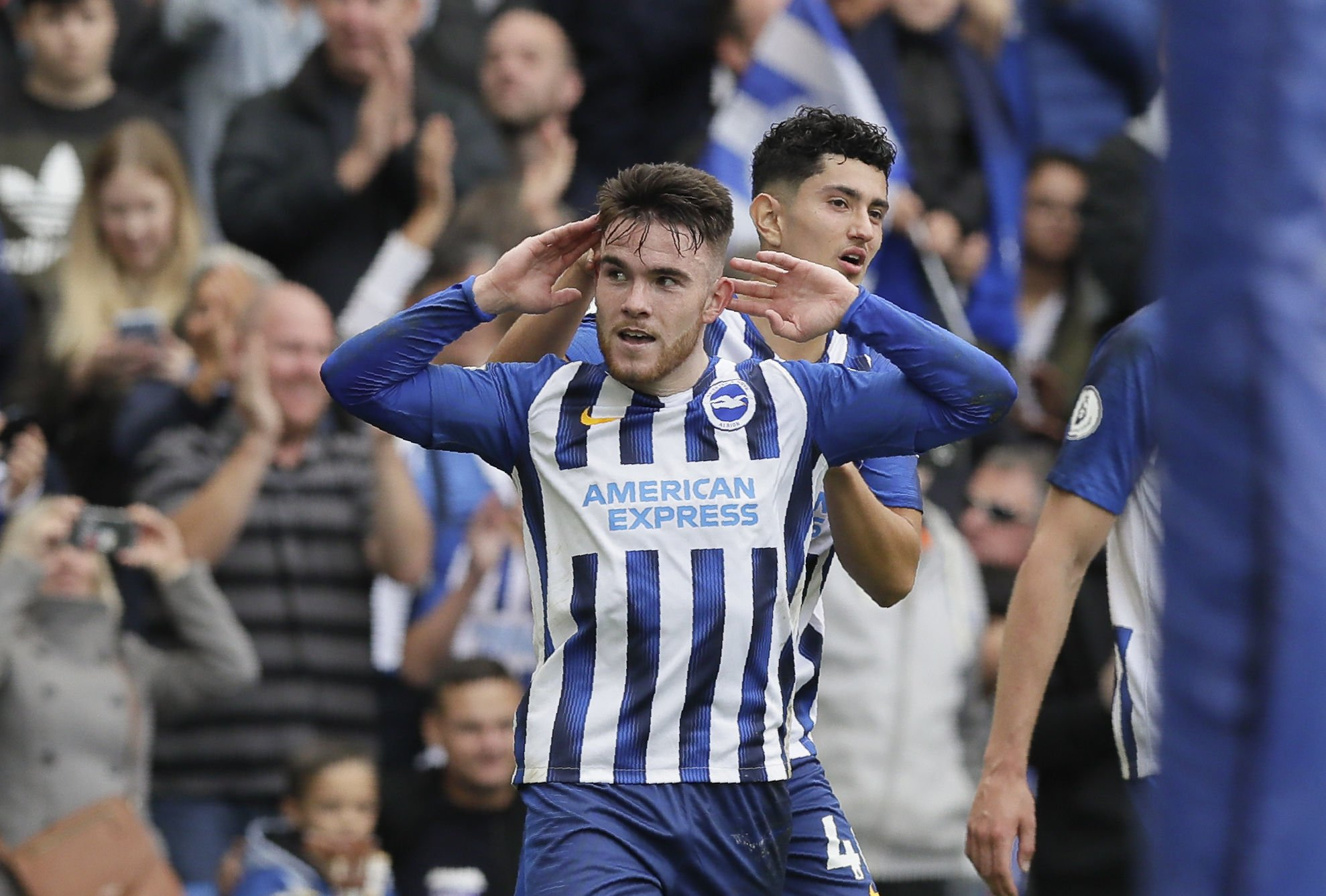 Aaron Connolly urged to keep banging in goals for Albion