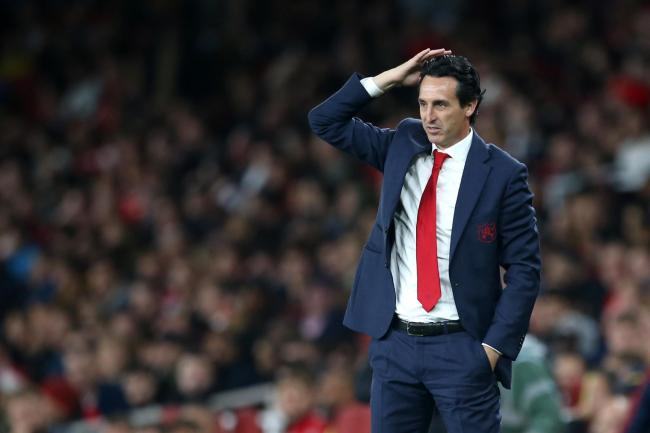 Unai Emery has come under pressure in recent weeks.