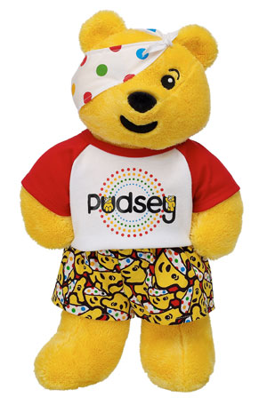 pudsey bear 2011, pudsey bear pictures