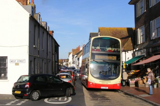 Road changes will be brought in to tackle pollution in Rottingdean High Street