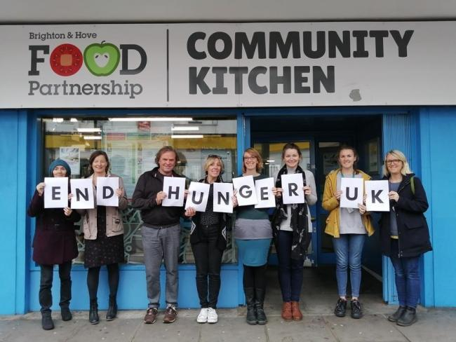 Record numbers of food banks are now operating in Brighton and Hove