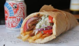The new vegan gyros fromWhat The Pitta is coming to Brighton on November 18