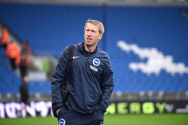 Graham Potter's side will have home advantage