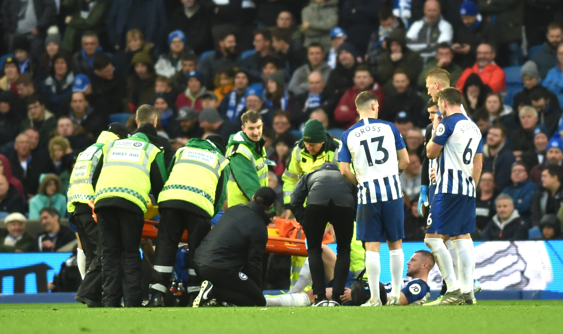 Adam Webster recovering from ankle ligament damage