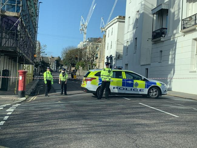 Road closed after reports of suspicious package