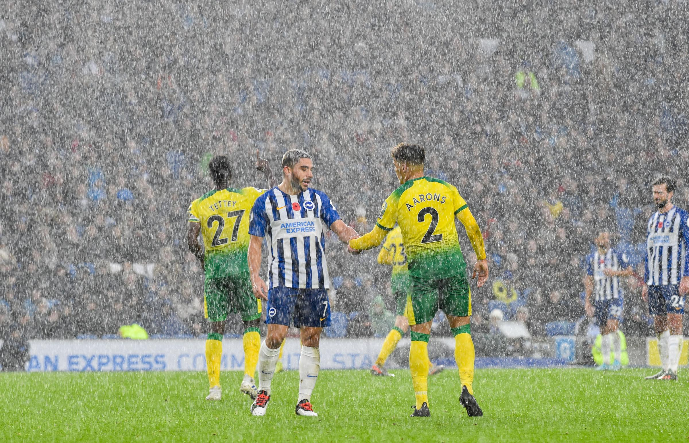 Albion are creating a fear factor at Falmer says striker Neal Maupay