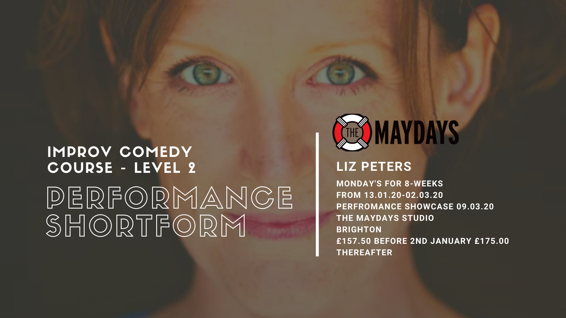 The Maydays Performance Shortform Improvisation Comedy Course
