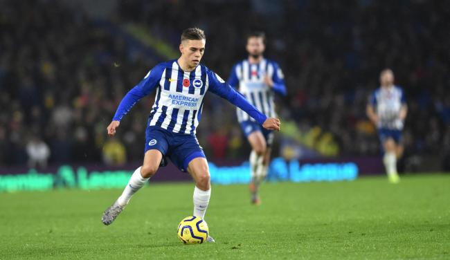 Albion's Leandro Trossard has adapted well to the Premier League