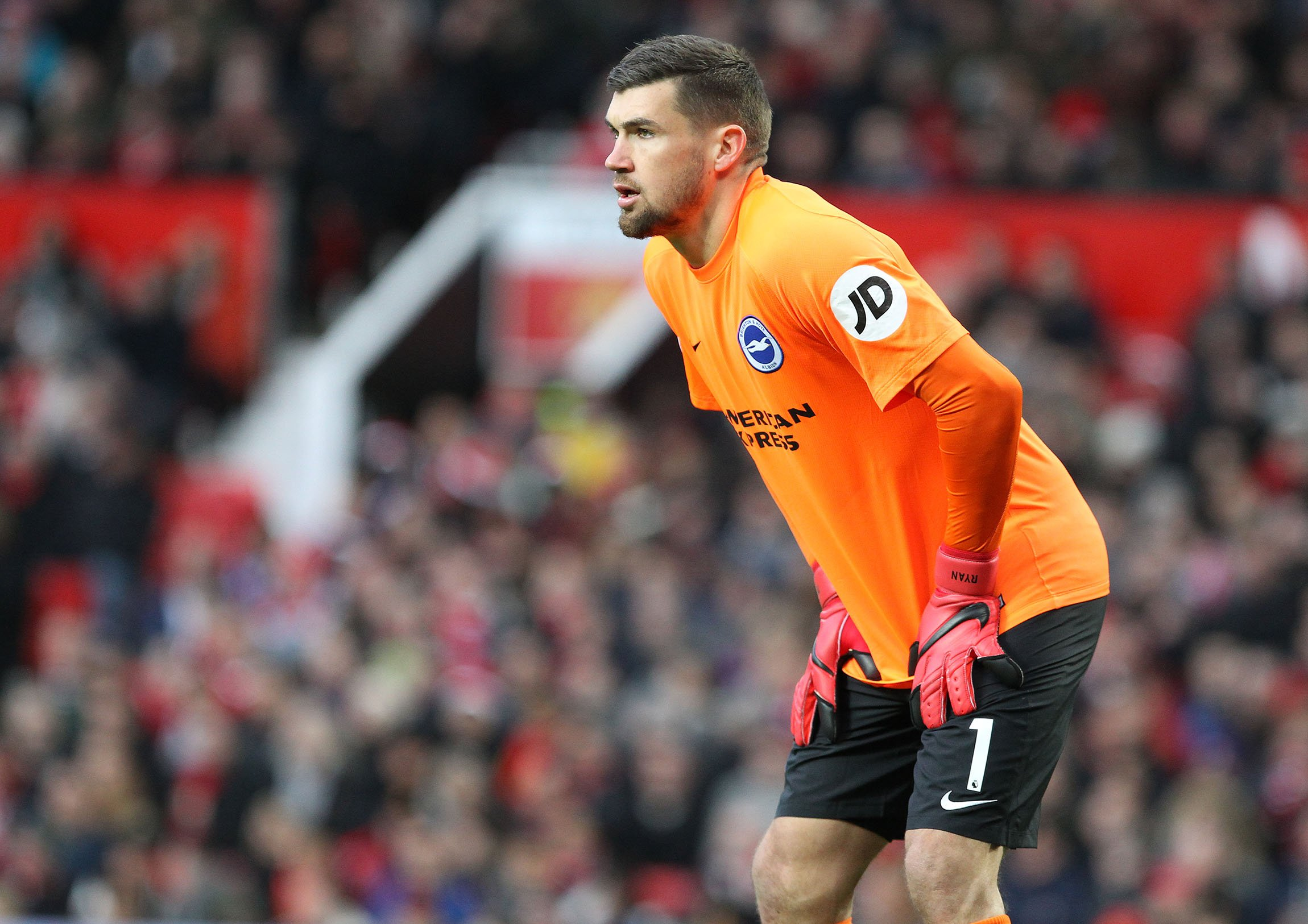 Maty Ryan expects Albion to have a go at United