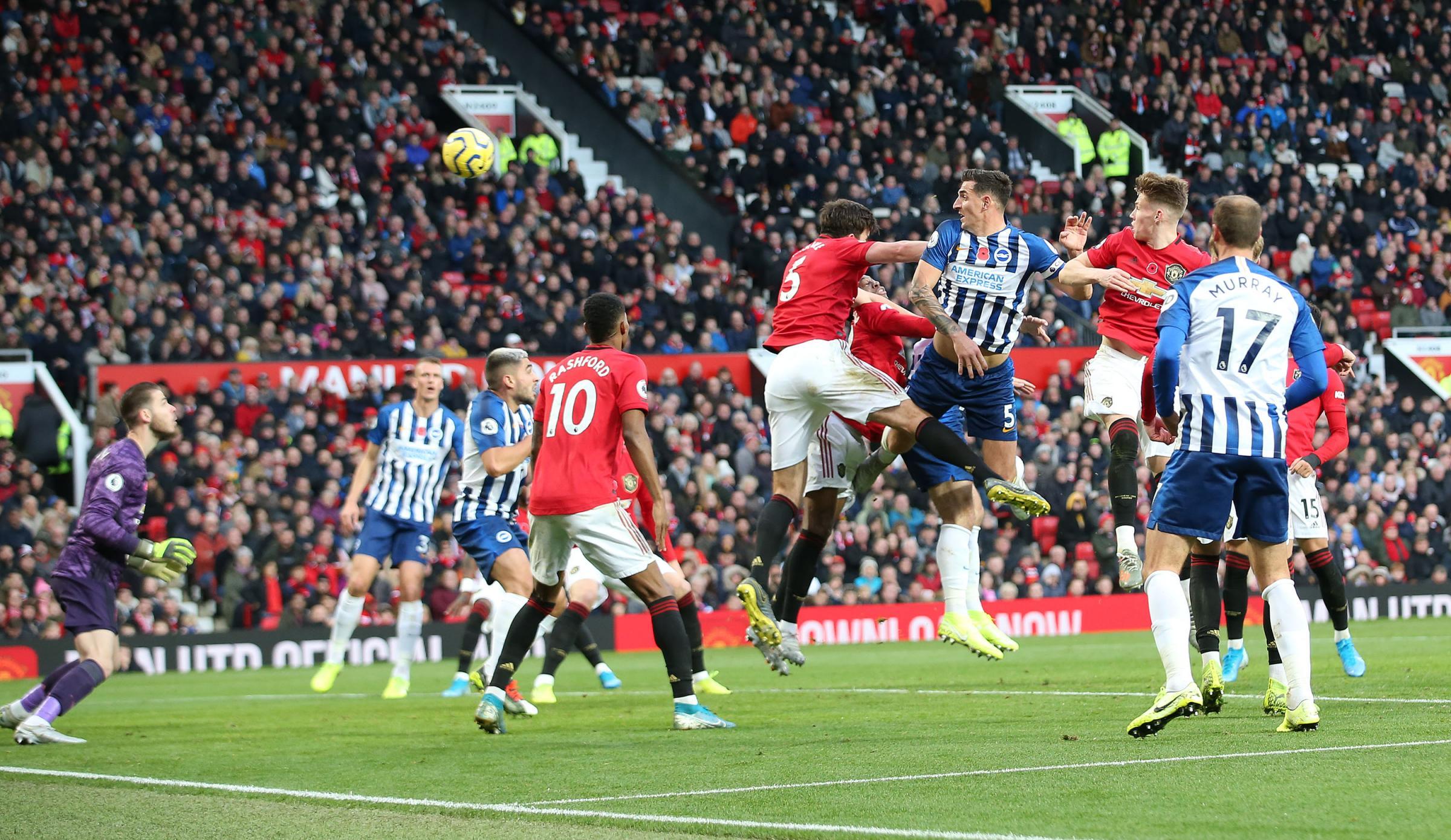 Follow Albion at Old Trafford against Manchester United:   Rashford makes it 3-1