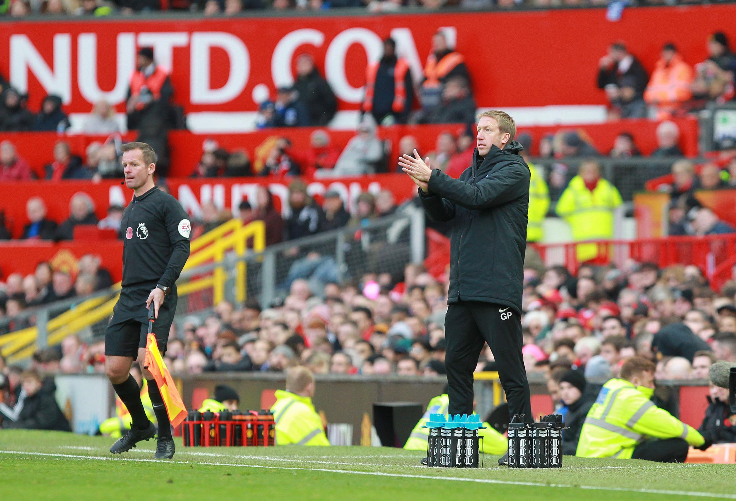 Albion boss Graham Potter admits Manchester United deserved to win