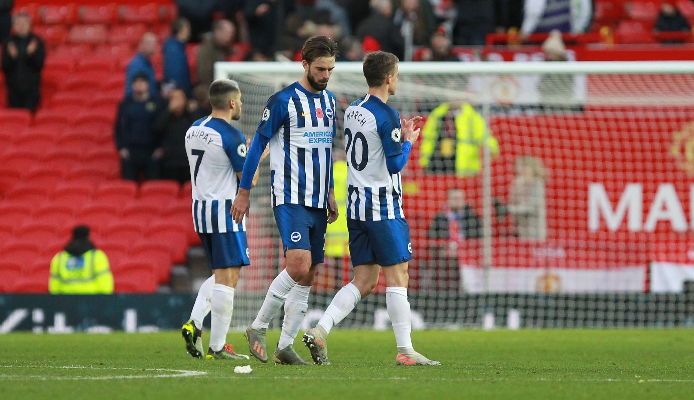 Relive the action as Albion are beaten by Manchester United
