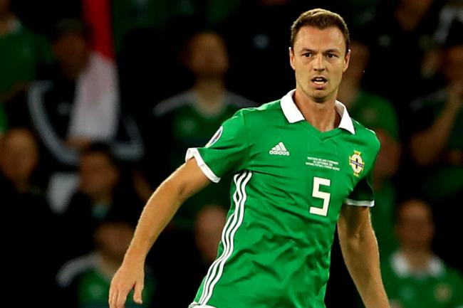 Northern Ireland's Jonny Evans has wished outgoing manager Michael O'Neill well
