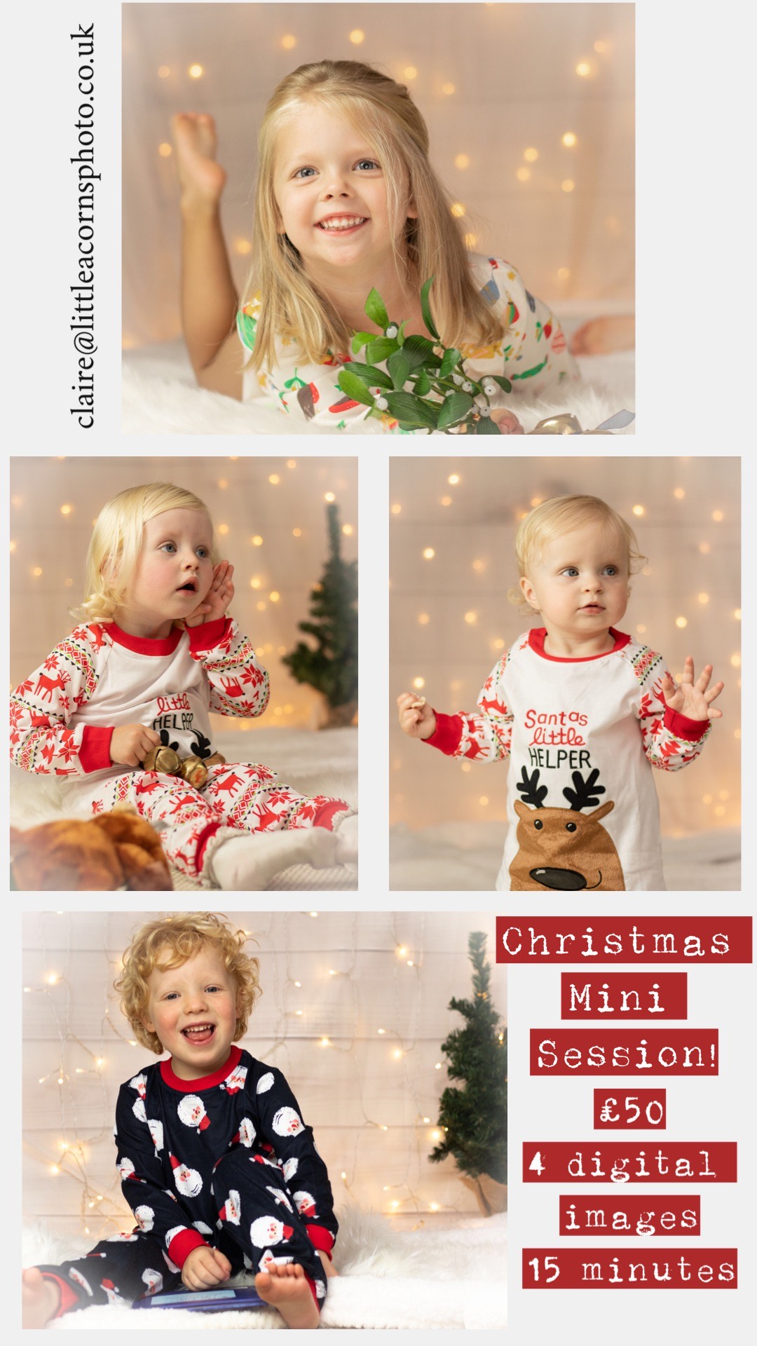 Christmas Mini Photography Shoots
