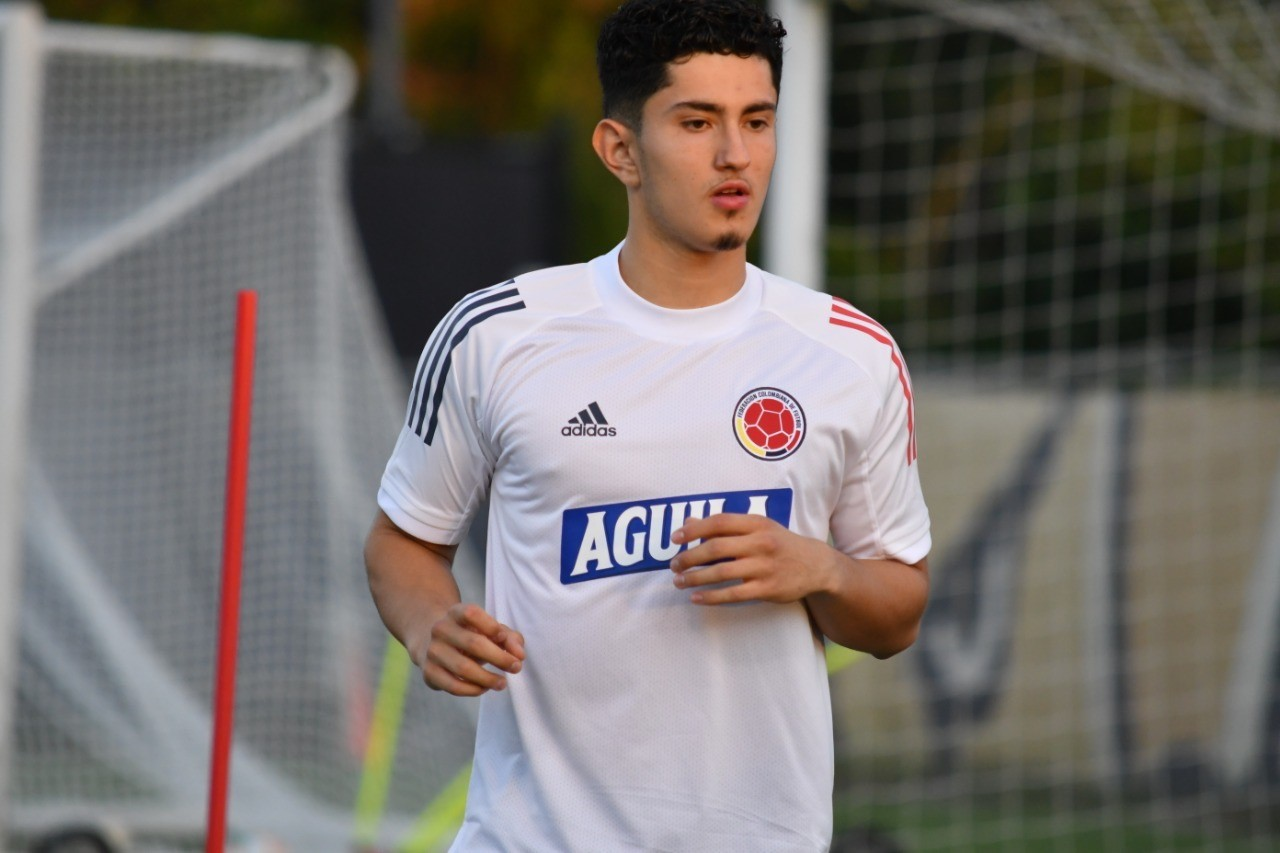 Steven Alzate hits right note as he settles in with Colombia