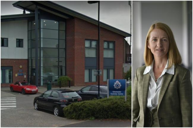 Katy Bourne hopes to review the PFI contract over Chichester Custody Suite