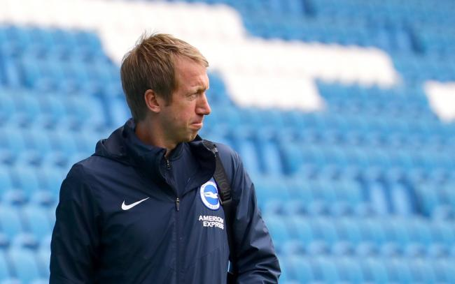 Graham Potter will have been looking ahead to some busy weeks