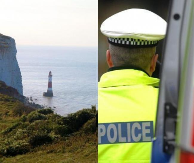 A 29-year-old woman died after falling from cliffs at Beachy Head