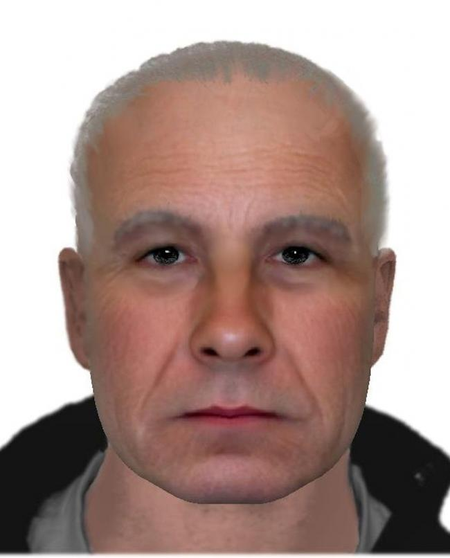 An efit of the suspect who stole £17,000 from a pensioner in Durrington