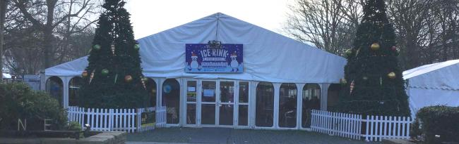 The Worthing ice rink