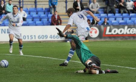 Tranmere vs Brighton and Hove Albion, Saturday, October 17.