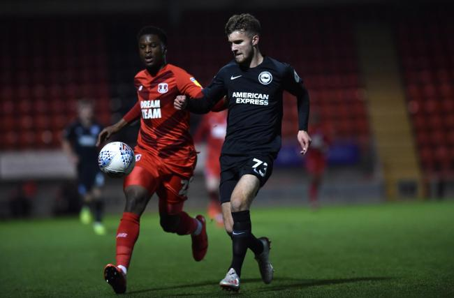 Albion's youngsters drew against Orient in the group stages