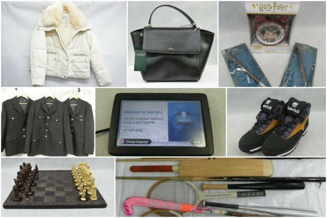 A look at some of the items available on the Sussex Police eBay auction page this week