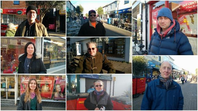 Hove shoppers give their views on the General Election