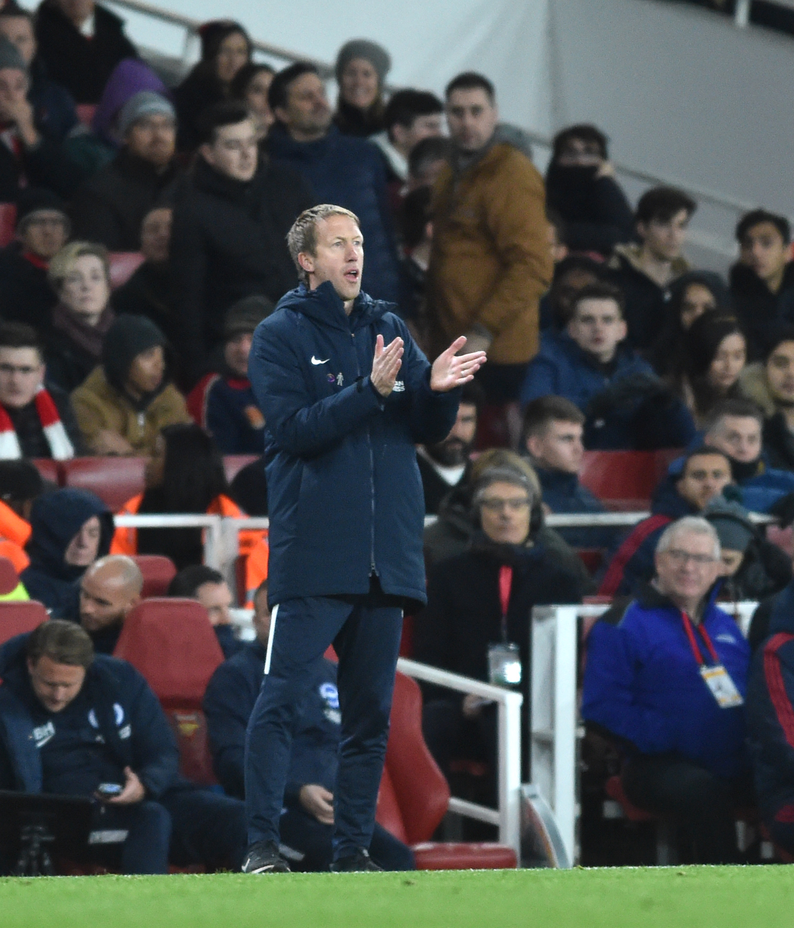 Graham Potter wants Albion to take belief from Emirates display