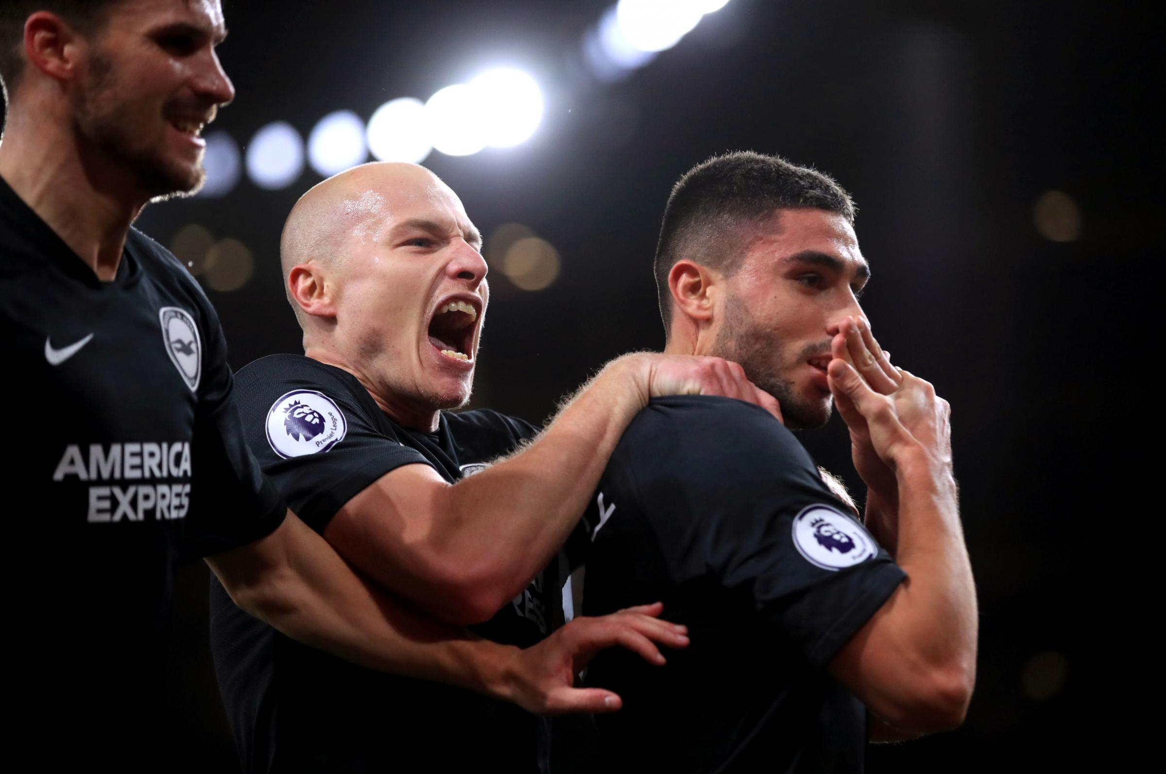 Striker Neal Maupay told sky's the limit by Albion boss