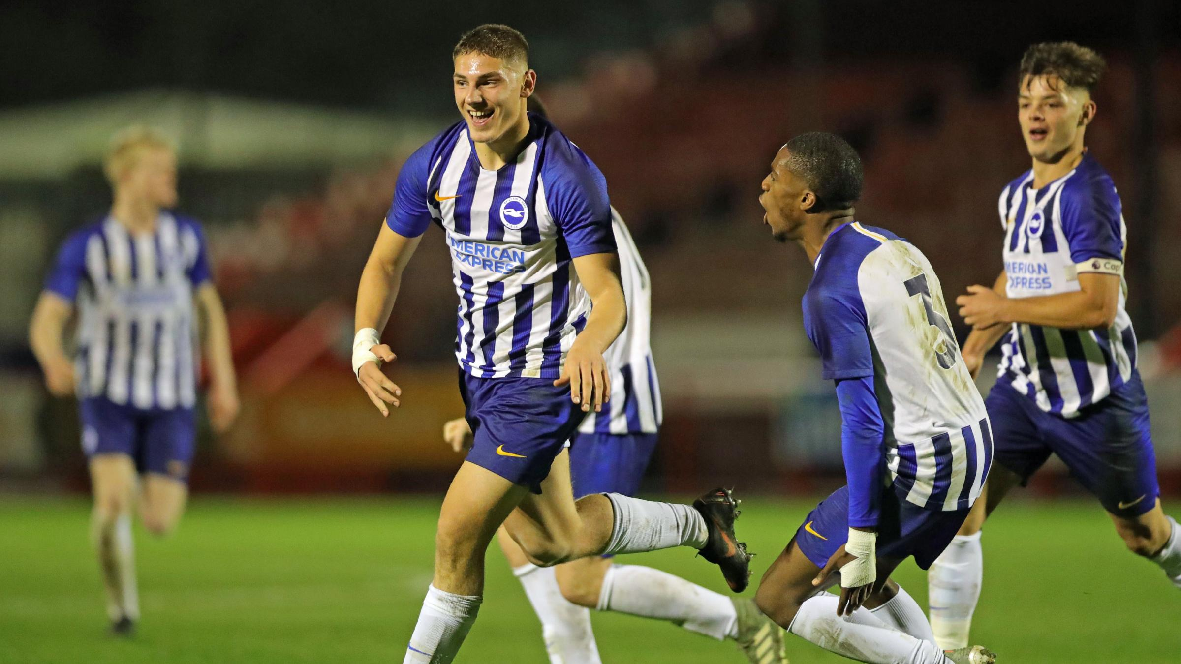 Lorent Tolaj ends his week on high with FA Youth Cup winner