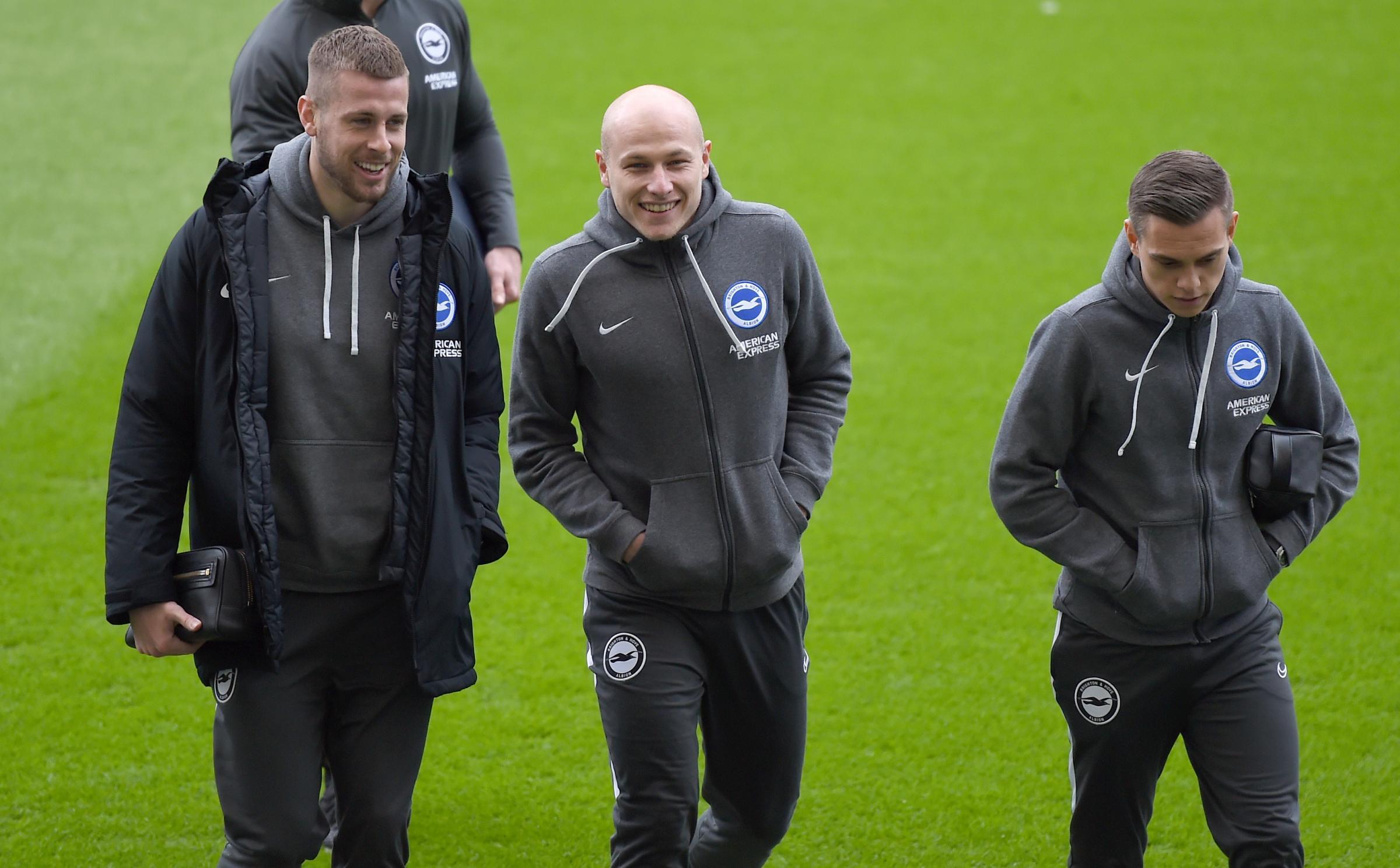 Leandro Trossard starts as Albion make one change