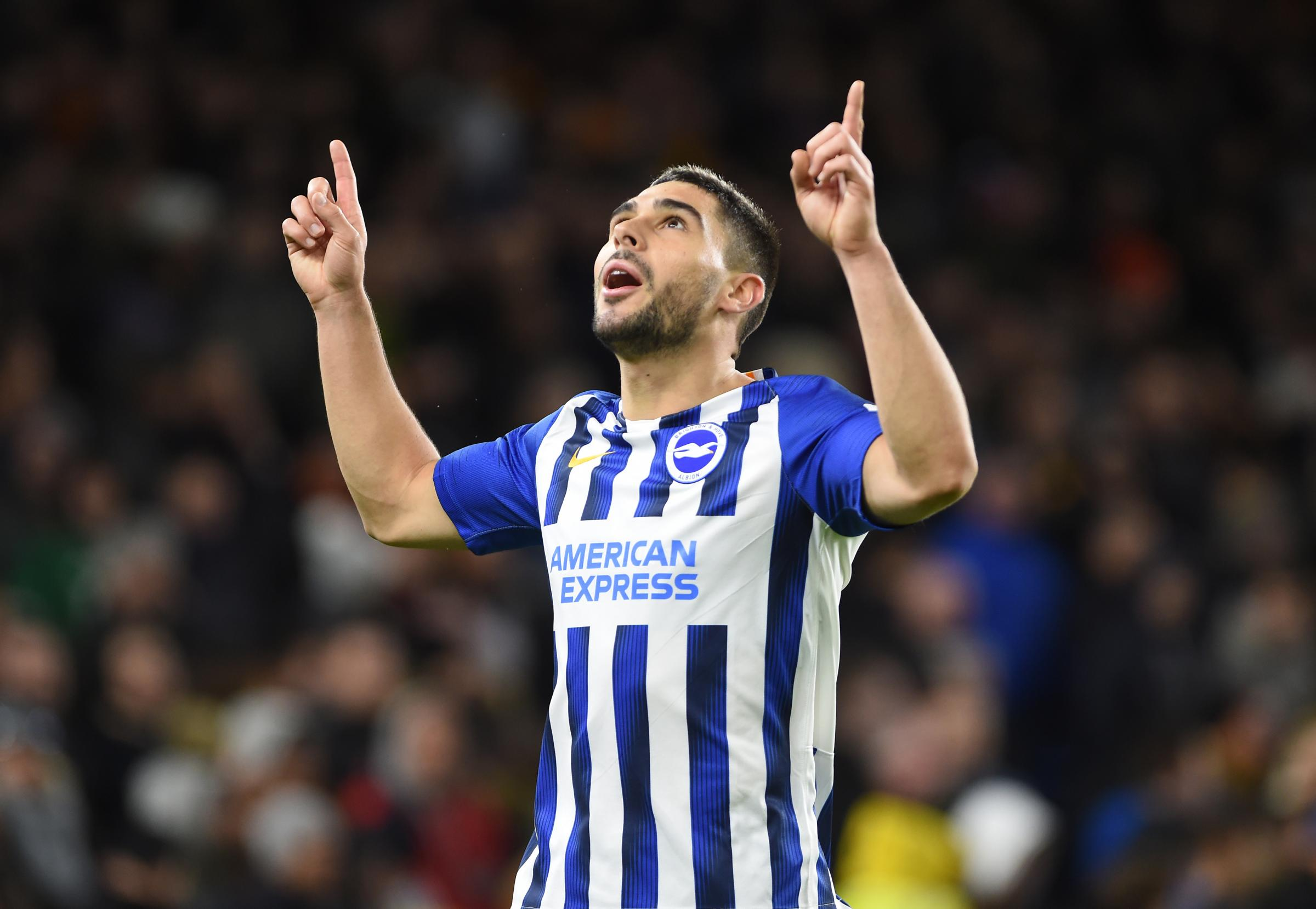 Follow Albion in action at the Amex against Wolves: Diego Jota puts Wolves level