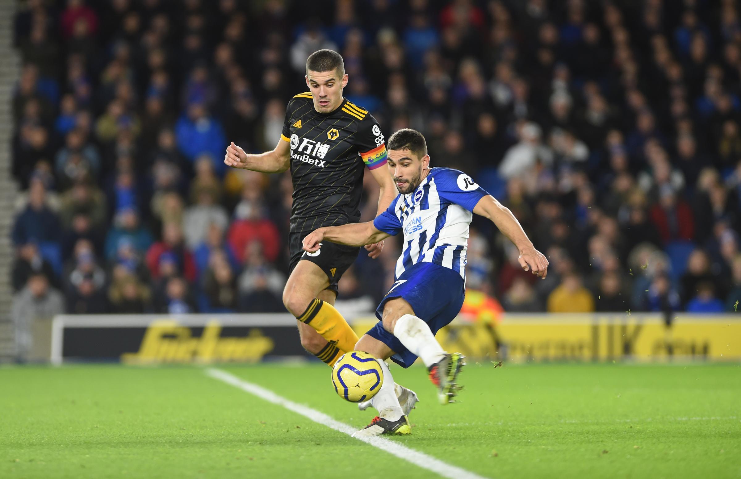 Graham Potter hails 'fantastic' striker Neal Maupay