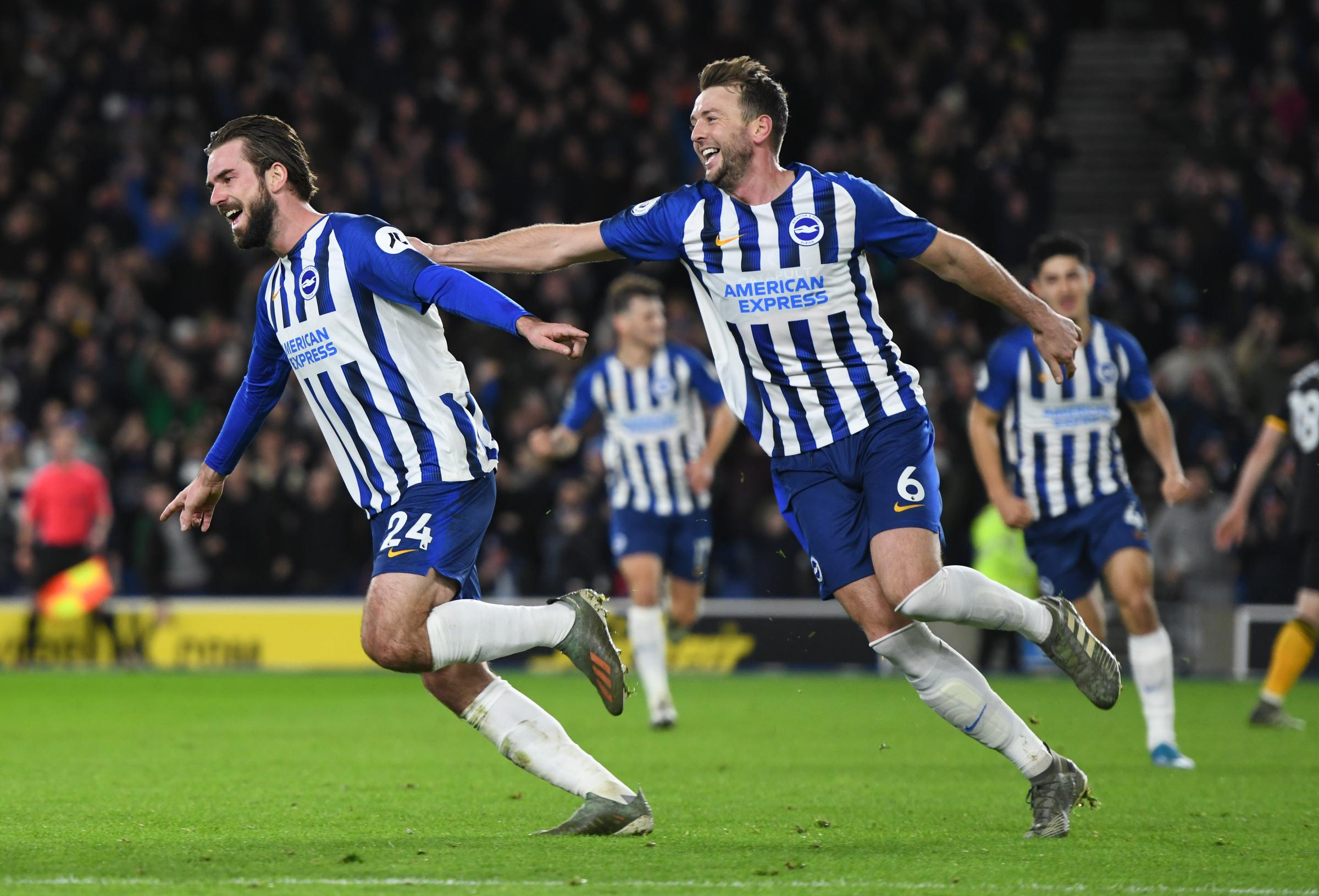 Pascal Gross says Albion will have to cope without Dale Stephens