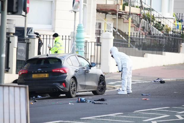 The Argus: Brighton seafront murder