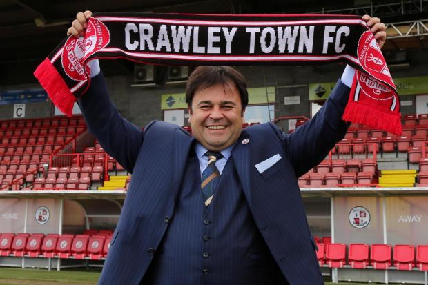 Ziya Eren says the long-term plan remains the same for Crawley Town