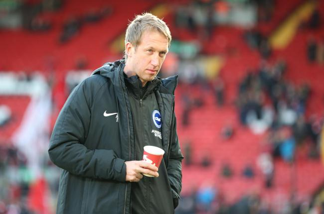 Graham Potter is preparing for his first experience of a Palace clash