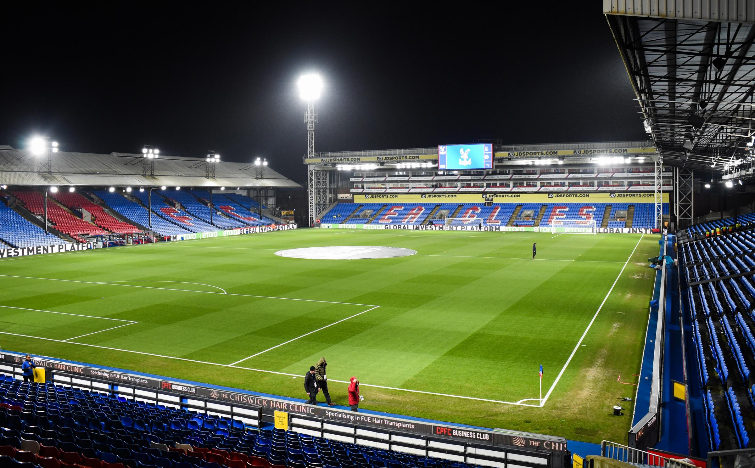 Referee confirmed for Albion's trip to Selhurst Park