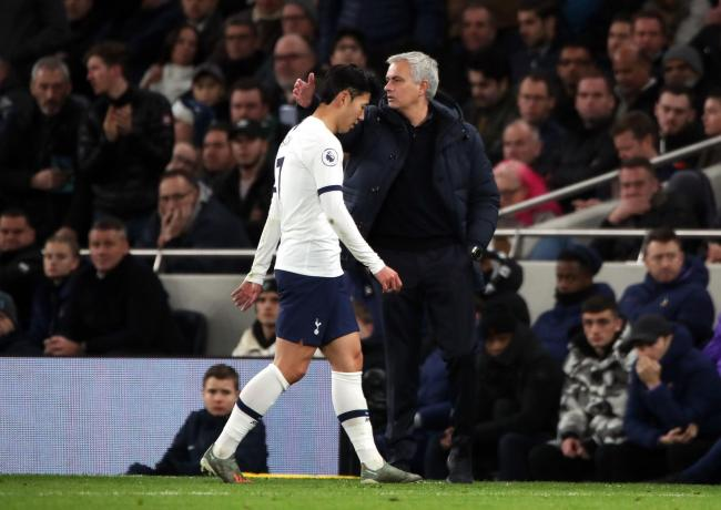 Son Heung-min trudges off