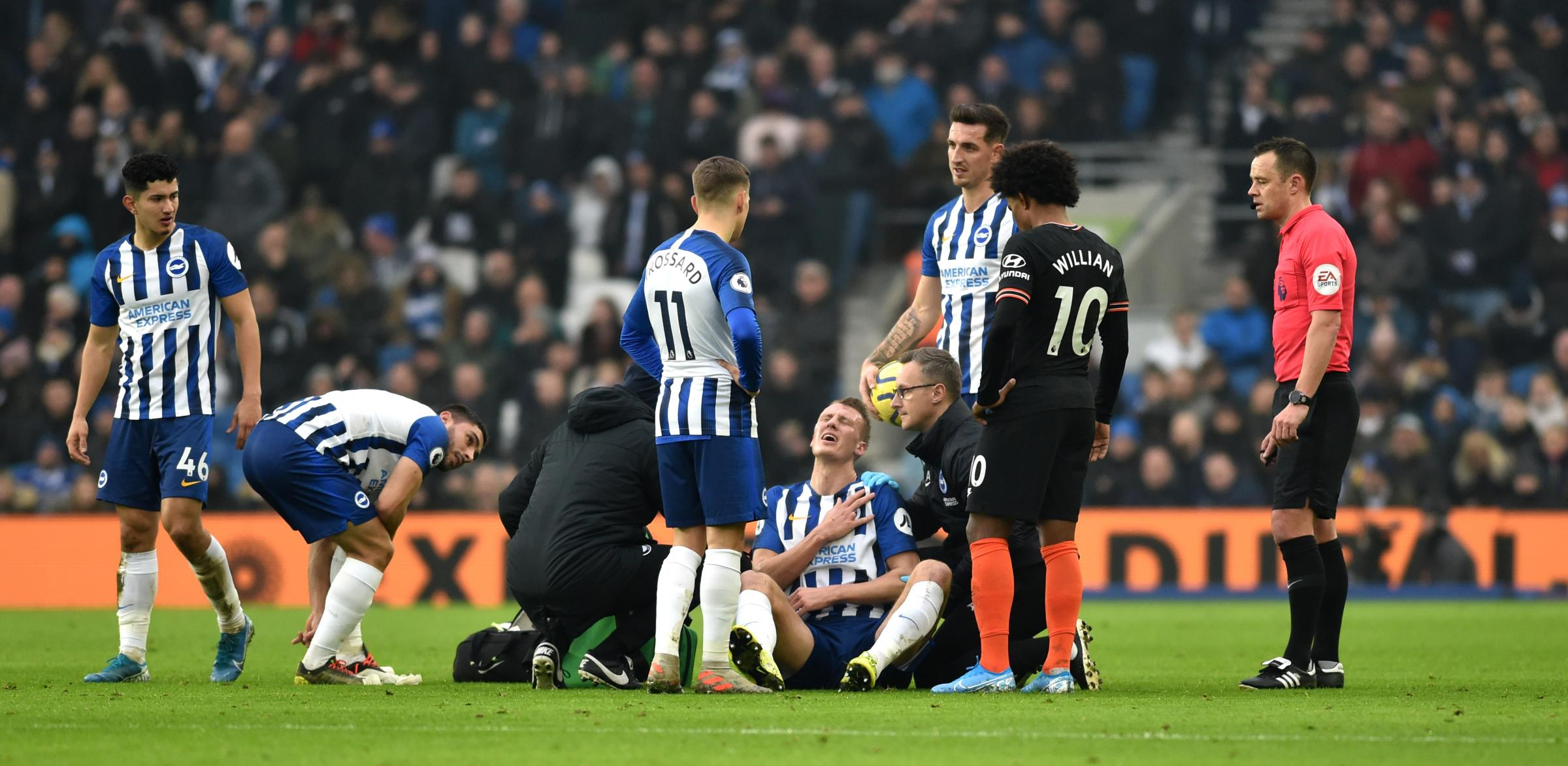 Injuries starting to pile up for Albion rivals