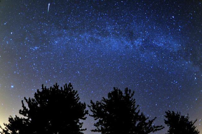 The Lyrid meteor shower is expected tonight