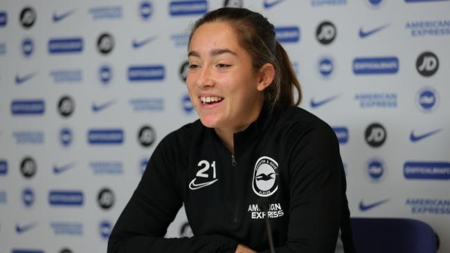 Maya Le Tissier has landed her first professional deal. Picture: Paul Hazlewood/BHAFC