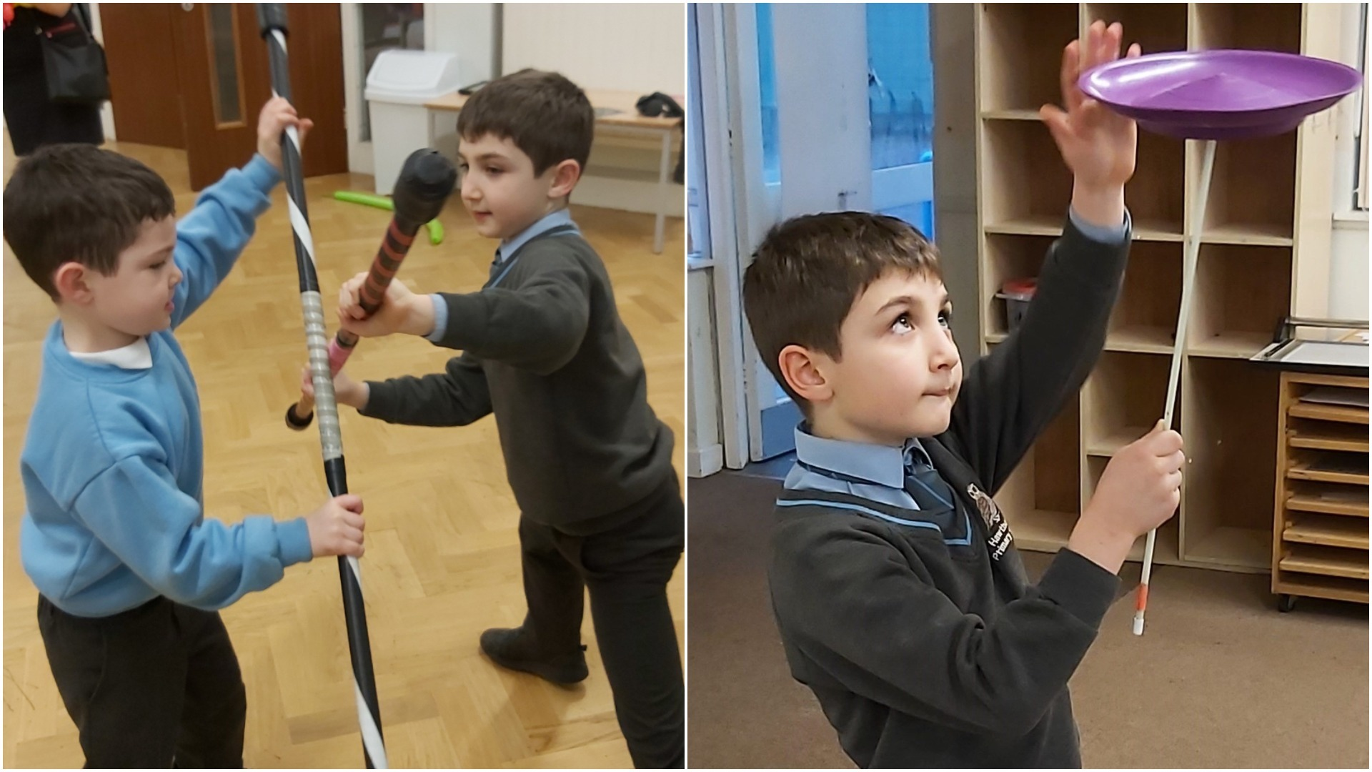 Worthing pupils get a taste of the circus life