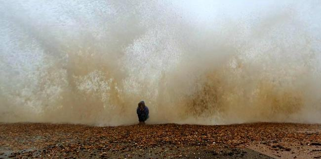 Hove seafront today. Pictures: Robert Murphy-Smith