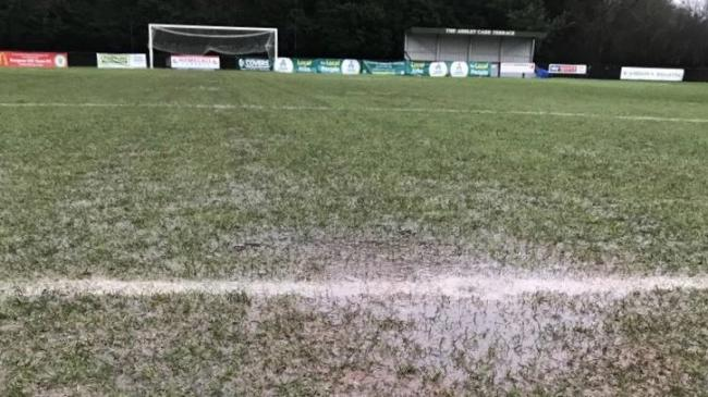 The scene at the The Green Elephant Stadium. Picture: Burgess Hill Town FC.
