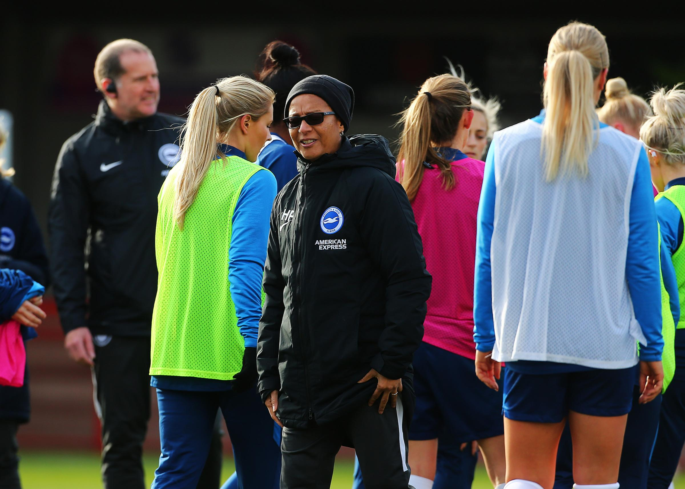 Hope Powell says Albion will take cup run game by game